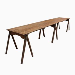 Industrieller Tisch aus Textilfabrik