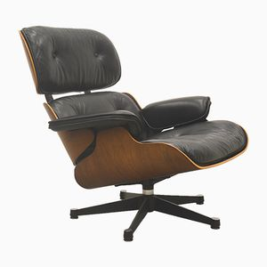 Rosewood Lounge Chair by Ray & Charles Eames for Vitra, 1970s
