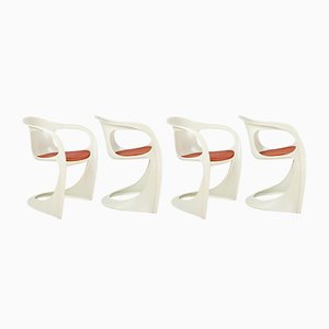 Casalino Esszimmerstühle von Alexander Begge für Casala, 1970er, 4er Set