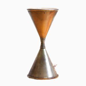 Vintage Clessidra Tischlampe von Angelo Lelli für Arredoluce