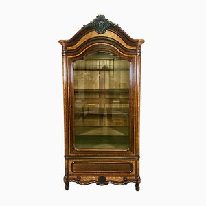 Napoleon III Bookcase in Rosewood and Cherry