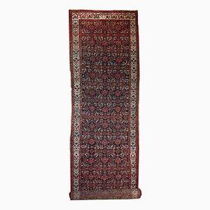 Handgemachter Antiker Persischer Malayer Läufer, 1920er