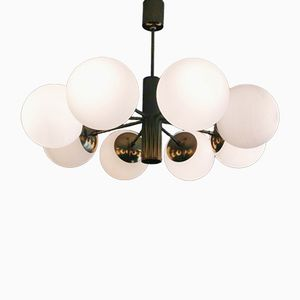 Lampada da soffitto Sputnik di Kaiser Leuchten, anni '60