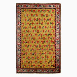 Antiker Handgefertigter Kaukasischer Karabagh Teppich, 1880er