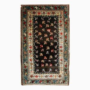 Antique Handmade Caucasian Gendje Rug, 1880s