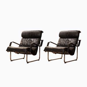 Remmi Lounge Chairs by Yrjö Kukkapuro for Avarte, 1970s, Set of 2