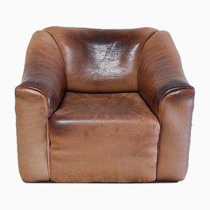 Vintage DS-47 Cognac Neck Leather Armchair from de Sede