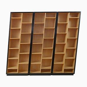 Libreria vintage asimmetrica di Christian de Portzemparc, set di 3