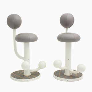 Barstools by Peter Opsvik for Stokke Norge, 1985, Set of 2