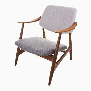 Mid-Century Vintage Sessel von Louis van Teeffelen für WéBé