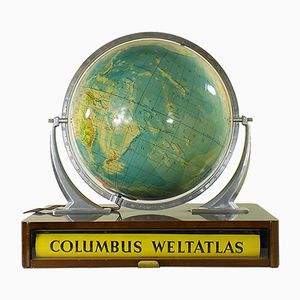 Globe from Columbus, 1950s