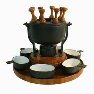 Danish Fondue Set from Digsmed, 1970s