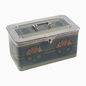 Vintage Art Nouveau Ceramic Box from Waechtersbach