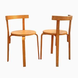 Dining Chairs by Alvar Aalto, 1960s, Set of 2