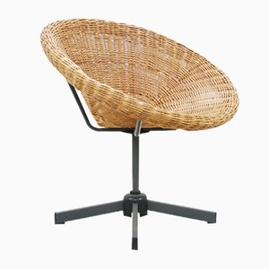 Basket Swivel Chair, 1960s