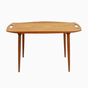 Danish Teak Side Table by Jens Quistgaard for Richard Nissen, 1960s