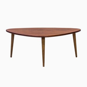 Danish Teak Occasional Table, 1950s