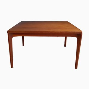 Vintage Danish Extendable Teak Dining Table by Henning Kjaernulf for Vejle