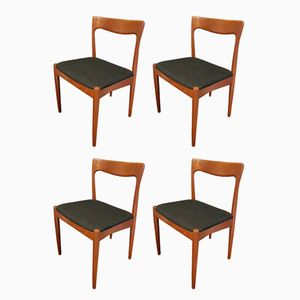 Teak Stühle von Arne Vodder für Vamo Sonderborg, 1960er, 4er Set
