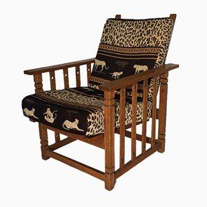 Sessel aus Hellem Holz, 1950er