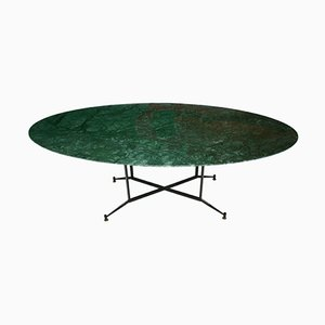 Indian Green Marble Dining Table, 1950s