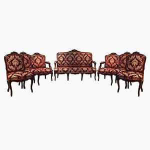 Set da salotto antico, XIX secolo