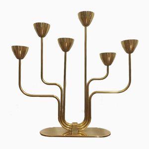 Vintage Messing Kerzenständer von Gunnar Ander für Ystad-Metall, 1950er