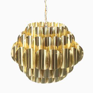 Brass Pendant by Hans Agne Jakobsson, 1960s
