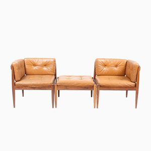 Sofa aus Palisander von Kai Kristensen für Magnus Olesen, 1960er