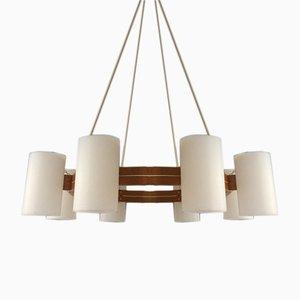 Schwedische Vintage Deckenlampe von Uno & Östen Kristiansson für Luxus