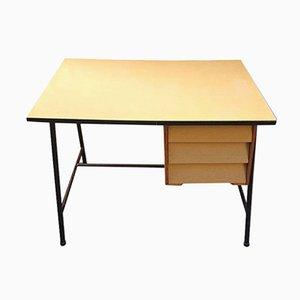 Vintage Metal & Birch Desk