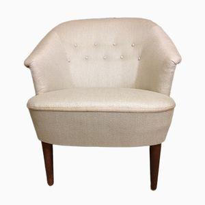 Skandinavischer Mid-Century Little Sister Easy Chair von Carl Malmsten, 1950er
