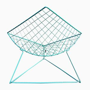 Green Oti Chair by Niels Gammelgaard for Ikea, 1983