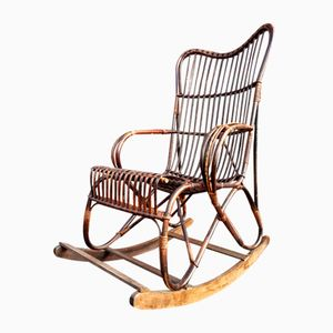 Vintage Rocking Chair from Rohe Noordwolde