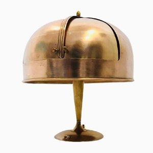 Art Deco Copper Table Lamp, 1930s
