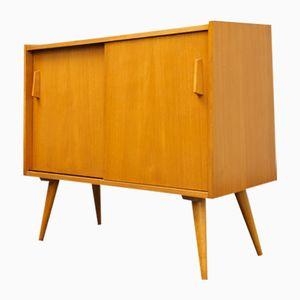 Mobiletto vintage in legno di frassino, anni '60