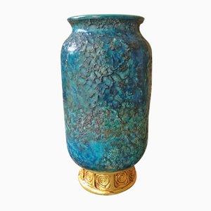 Vaso serie China vintage di Aldo Londi per Bitossi