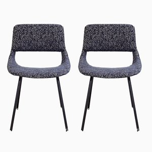 Vintage Side Chairs by Louis Paolozzi For Zol, Set of 2