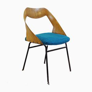 Mid-Century Stuhl von Louis Paolozzi, 1950er