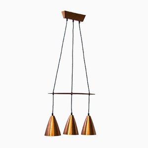 Vintage Scandinavian Ceiling Lamp by Hans-Agne Jakobsson, 1950s