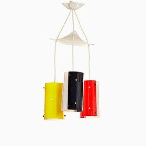 Mid-Century Plexiglas Ceiling Lamp, 1950s