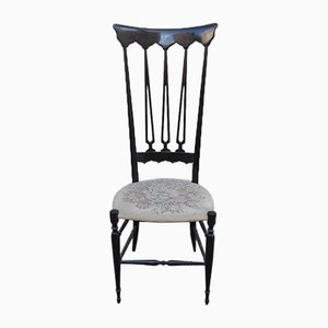 Mid-Century Italian Rosewood Chair, 1950s