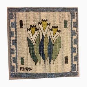 Textile Tissé Vintage par Märta Måås-Fjetterström