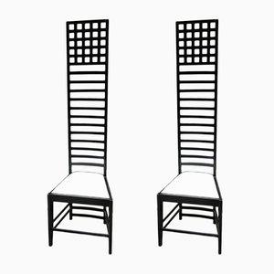 Chaises de Salon Vintage, 1980s, Set de 2