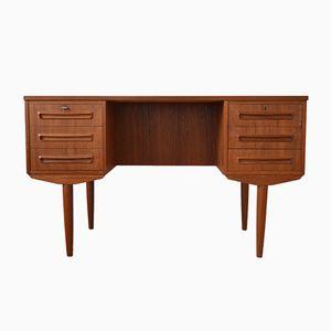 Teak Schreibtisch von J. Svenstrup für A.P. Møbler, 1960er