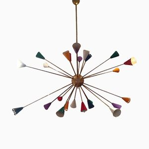 Sputnik Chandelier from Stilnovo, 1970s