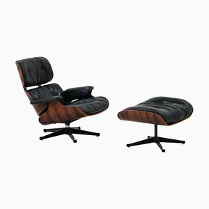 Lounge Chair & Ottoman by Charles and Ray Eames for Herman Miller, 1960s
