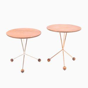 Swedish Teak Coffee Tables, 1960s, Set of 2