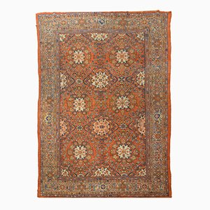 Antique Feraghan Wool Carpet