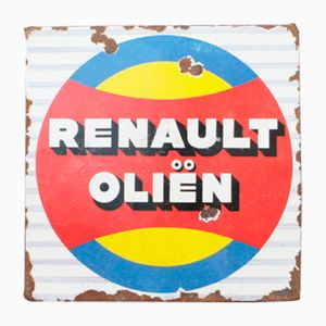 Insegna Renault vintage, anni '50